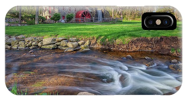 Springtime At The Grist Mill IPhone Case