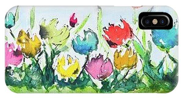 Springtime Tulips IPhone Case