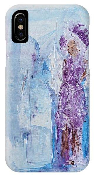 Spunky Angel IPhone Case