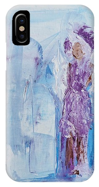 Spunky Angel IPhone Case