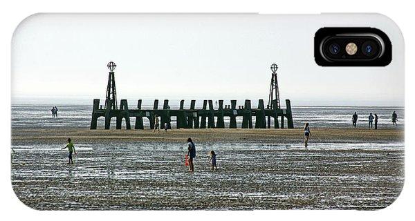 St. Annes. On The Beach. IPhone Case
