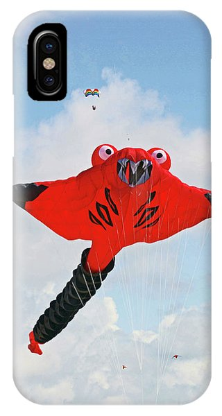 St. Annes. The Kite Festival IPhone Case
