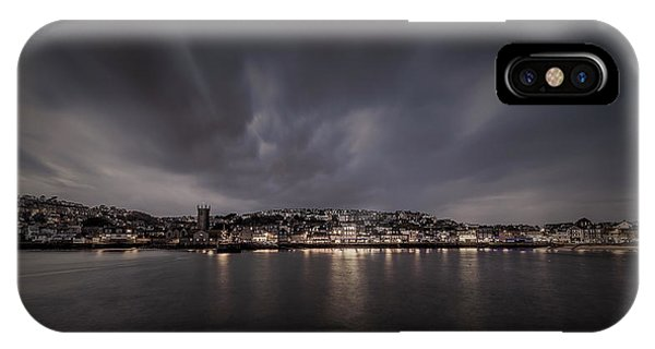 St Ives Cornwall - Dramatic Sky IPhone Case