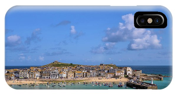 St Ives Cornwall - General View IPhone Case