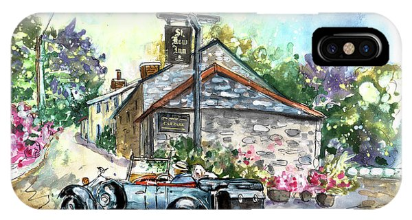 iPhone Case - St Kew Inn In Cornwall 01 by Miki De Goodaboom