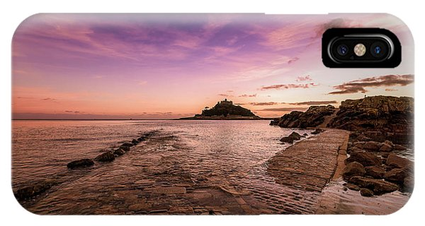 St Michael's Mount - January IPhone Case