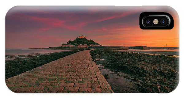St Michael's Mount Sunset IPhone Case