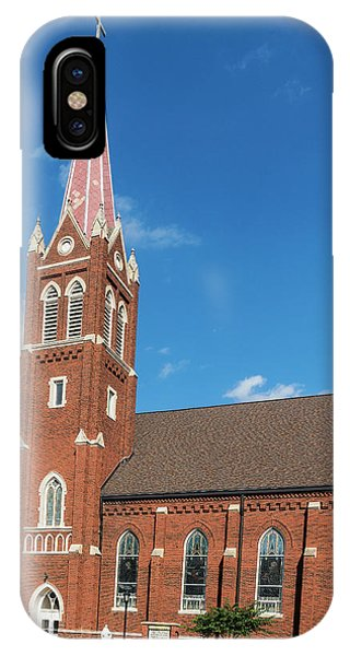 IPhone Case featuring the photograph St. Wenceslaus Catholic Church by Edward Peterson