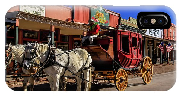 Stagecoach, Tombstone IPhone Case