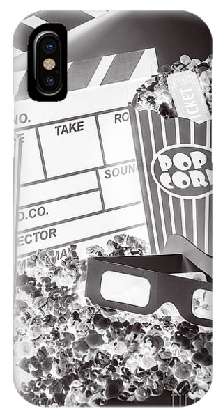 Movie iPhone Case - Staging A Scene by Jorgo Photography - Wall Art Gallery