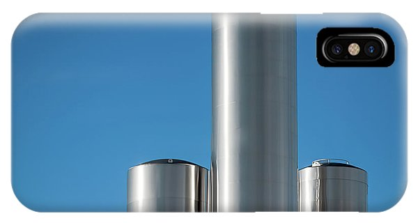 Stainless Steel iPhone Case - Stainless Steel Tanks by Todd Klassy