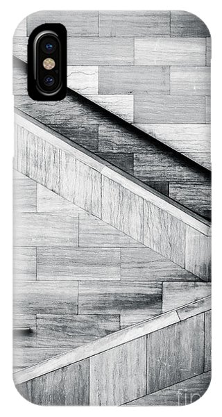 View Point iPhone Case - Staircases In The National Museum Of by Jon Bilous