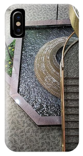 Stairs And Fountain  IPhone Case