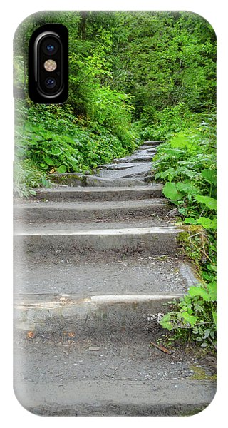 Stairs To The Woods IPhone Case