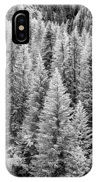 Standing Tall In The French Alps IPhone Case