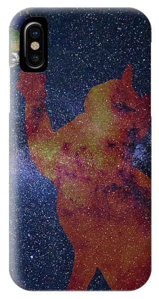 Star Cat IPhone Case