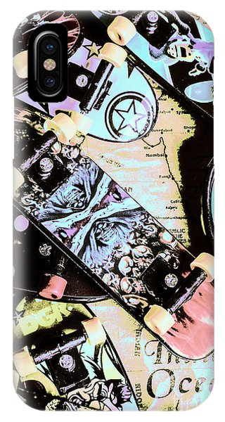 Old World iPhone Case - Star Skaters by Jorgo Photography - Wall Art Gallery