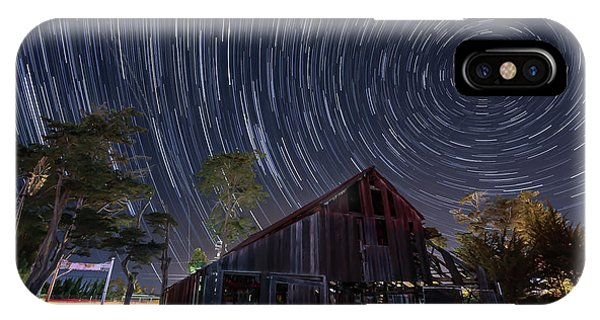 Star Trails Over Bonetti Ranch IPhone Case
