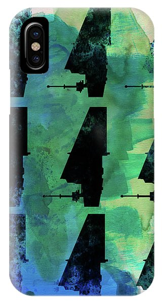Film iPhone Case - Star Warrior Collage by Naxart Studio