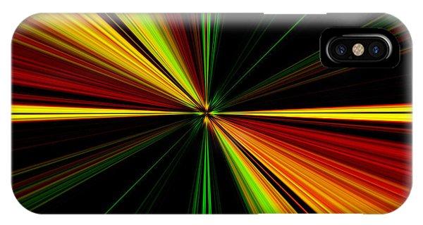 Starburst Light Beams Design - Plb461 IPhone Case