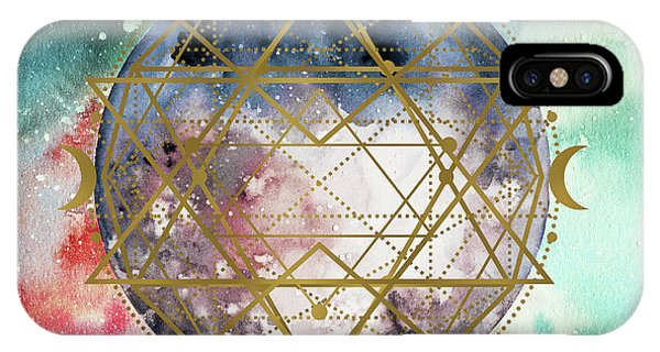 IPhone Case featuring the digital art Starchild by Bee-Bee Deigner