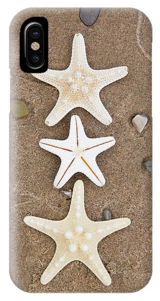 iPhone Case - Starfish In The Sand by Emily Johnson