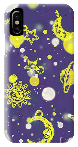 Solar System iPhone Case - Starry Night by Jorgo Photography - Wall Art Gallery