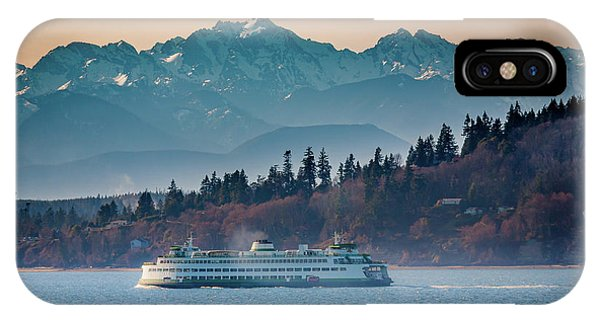 State Ferry And The Olympics IPhone Case