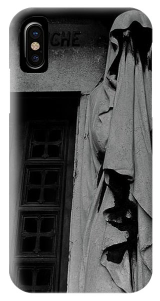 IPhone Case featuring the photograph Statue, Pass By by Edward Lee