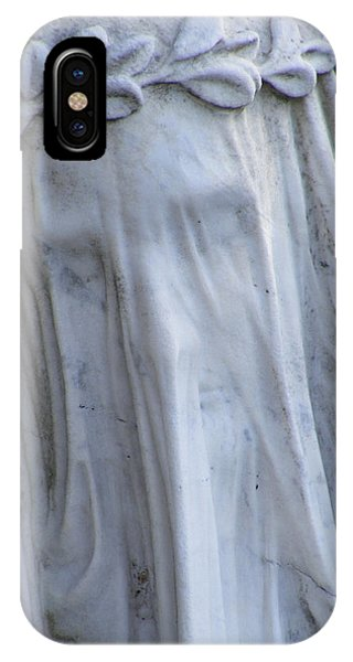 IPhone Case featuring the photograph Statue, Remorse  by Edward Lee