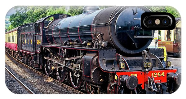 Steam Locomotive 1264 Nymr IPhone Case
