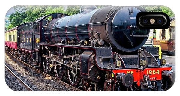 Steam Locomotive 1264 Nymr IPhone Case