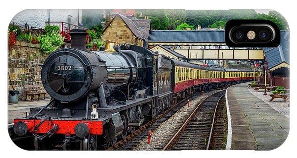 Sleeper iPhone Case - Steam Locomotive Wales by Adrian Evans