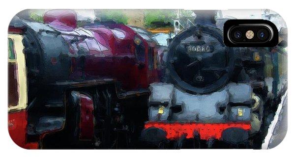 Steam Trains IPhone Case