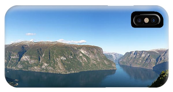 IPhone Case featuring the photograph Stegastein, Norway by Andreas Levi