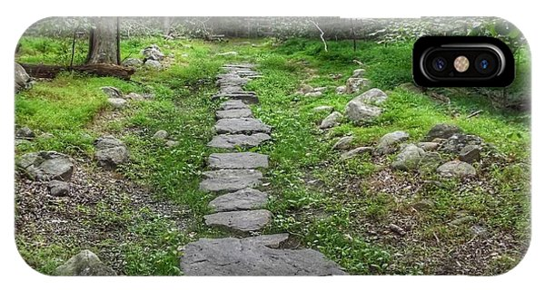 Stepping Stone Path - Kinnelon IPhone Case