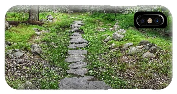 Stepping Stone Path - Kinnelon IPhone Case