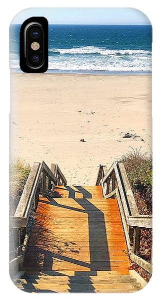 IPhone Case featuring the photograph Steps To The Beach by Brian Eberly