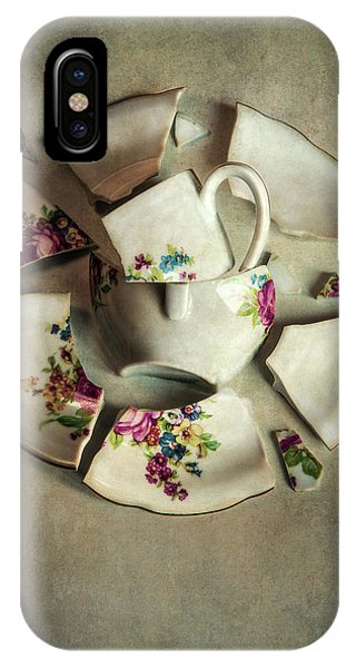 iPhone Case - Still Life With Broken Teaset by Jaroslaw Blaminsky