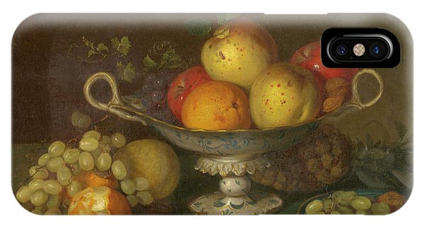Still Life With Fruit, 1844 IPhone Case