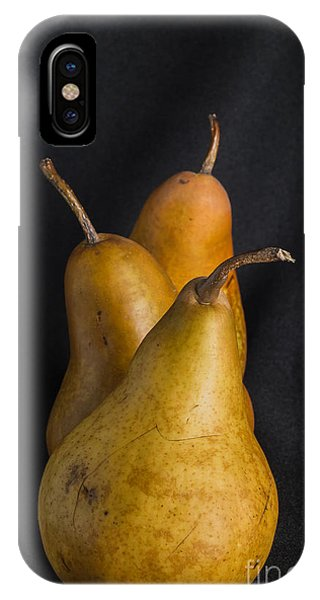 Fruit Bowl iPhone Case - Still Life With Pears by Neosiam32896395