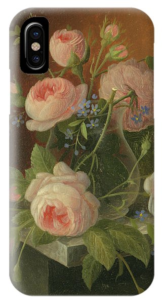 Still Life With Roses, Circa 1860 IPhone Case