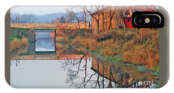 Still Waters On The Canal IPhone Case