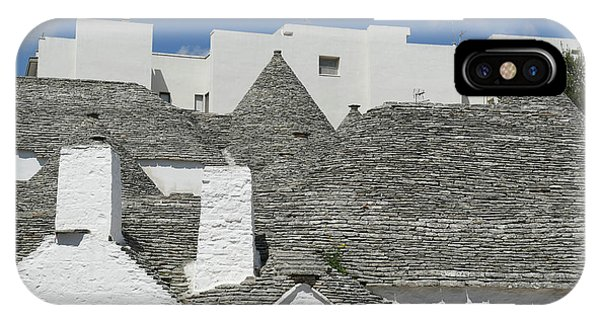 Stone Coned Rooves Of Trulli Houses IPhone Case