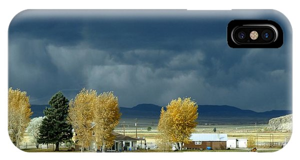 IPhone Case featuring the photograph Storm Brewing by Rosanne Licciardi