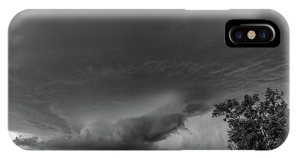 Nebraskasc iPhone Case - Storm Chasin In Nader Alley 007 by NebraskaSC