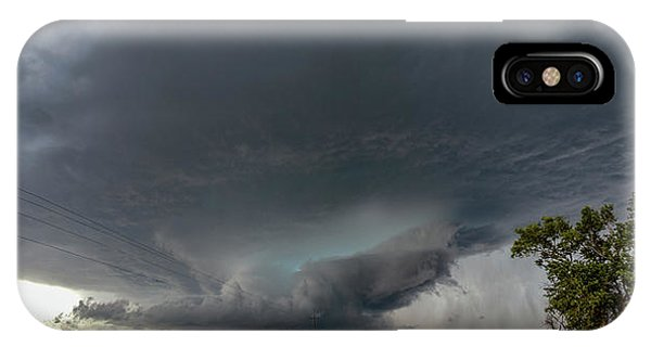 IPhone Case featuring the photograph Storm Chasin In Nader Alley 008 by NebraskaSC
