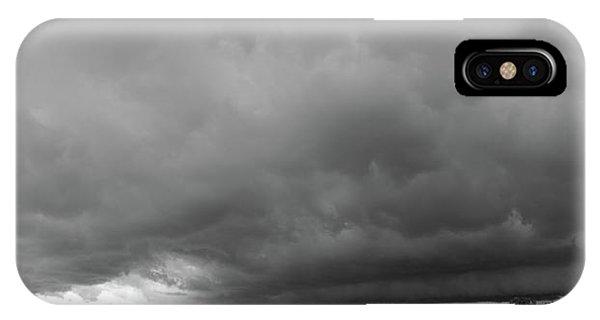 Nebraskasc iPhone Case - Storm Chasin In Nader Alley 009 by NebraskaSC