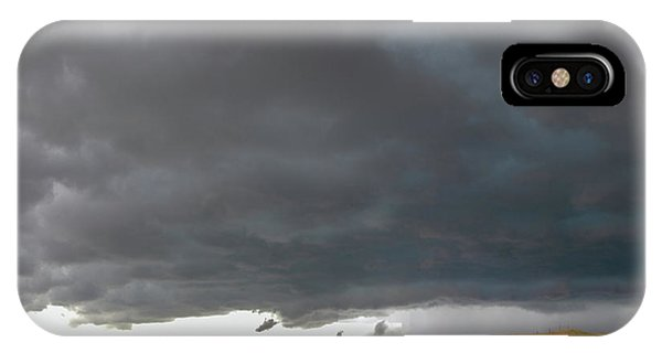 Storm Chasin In Nader Alley 016 IPhone Case