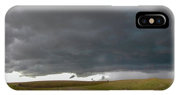 IPhone Case featuring the photograph Storm Chasin In Nader Alley 016 by NebraskaSC